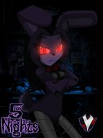 5 Nights - Bonnie the Bunny by PlayboyVampire
