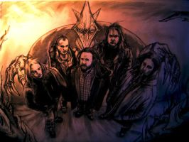 In Flames members by sanpay89