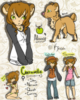 Reference: Caramellie. by Kiocah