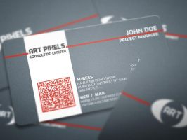 Art Business Card by calwincalwin