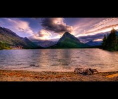 Swiftcurrent Lake by Parabola-Pop