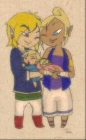 "Link and Tetra: ""Complete"" by BeagleTsuin"