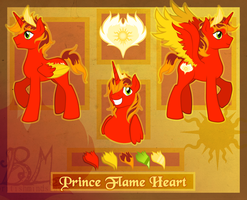 COMM: Prince Flame Heart by BritishMindslave