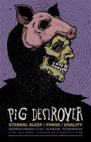 PIG DESTROYER POSTER by BURZUM