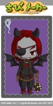 ChibiMaker Crix Vierban the Vampire Lord by Galron2