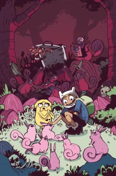 Adventure Time issue 17 by Cabycab