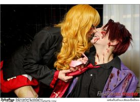 Umineko Cosplay: Beatrice x Black Battler: by Redustrial-Ruin