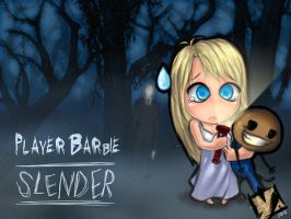 PlayerBarbie - SLENDER by Ypslon