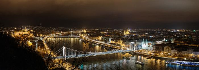 Budapest Panorama by MarcoFiorilli
