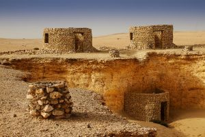 Qatar - Zekreet - 18 - 3 Huts and 3 Fire Places by GiardQatar
