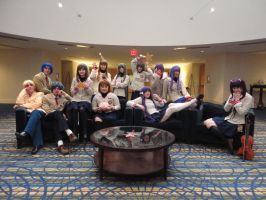 MomoCon 2012 - Clannad Group Shot by MiaHinano