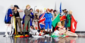 Hetalia World Serie~ by hiro-sama-x