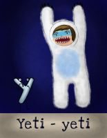 Y is for Yeti by Pauliinita