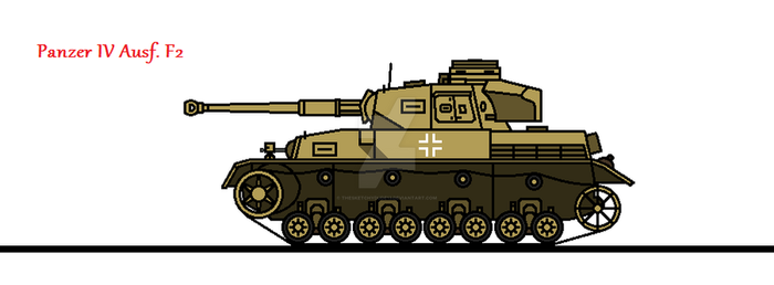 Panzer IV Ausf. F2 by thesketchydude13