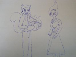 happy birtday flame 13 by new-math1z