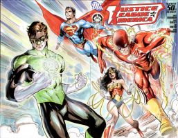 JLA 50 Hero Initiative cover by Cinar