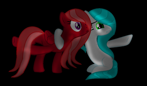Sis It's too dark here! by IcyPonyArtist