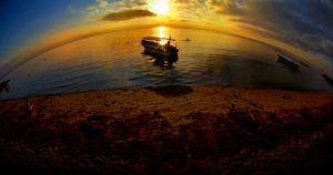 Sunrise Sanur beach by nooreva