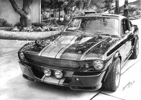 SHELBY GT500 Eleanor Black by sanchez567