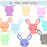 Very cute Bunny brush by kiger8kiger