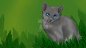 Cinderpelt (Wallpaper) by KayasPawsteps