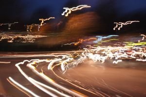 Lightpainting in the streets of London 2 by Scout2Freak