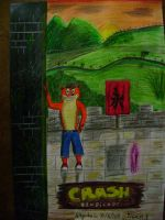 Crash bandicoot -orient express by tigrisssilvery