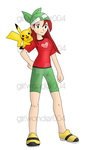 Request - Pokemon Trainer Kira by girlwonder004