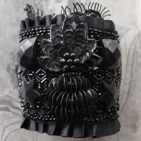 Victorian Mourning Cuff - image 2 by asunder