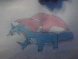 Colored Salamence by Lugianiki123