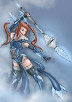 Ice Sorceress by ChronicRift