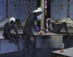 The Drow Bathhouse by wheeter
