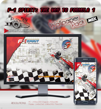 F-1 Spirit: The Way to Formula-1 - WP Pack MSX by kontxouso