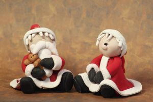 Mr and Mrs Claus by lizayle