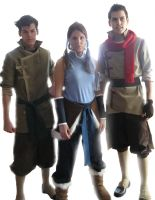 Korra Team Avatar Cosplay reveal by Confidenceman047