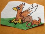 Leysa the gryphon by Green217