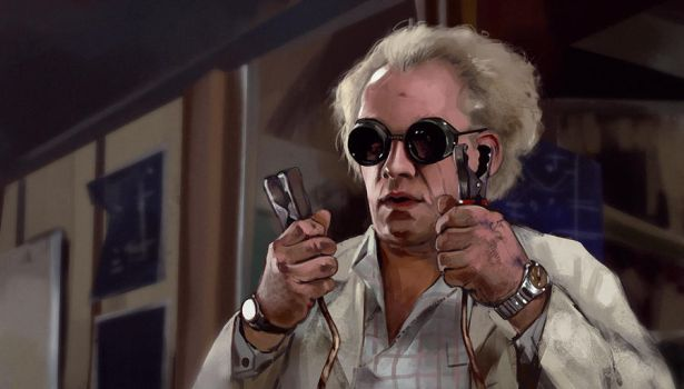 Emmett Lathrop Brown by PolliPo