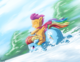 Squishy Sleigh Ride by C-adepsy