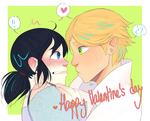 Adrienette's Valentine by Uxia15