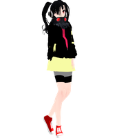 [MMD Newcomer] Takane Enemoto -Headphone Actor- by SapphireRose-chan