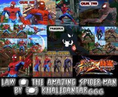 SFXT - LAW - THE AMAZING SPIDER-MAN by Khaledantar666