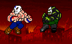 Blane The Mask VS Blot The Mask by Darkblane257