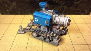 Warhammer 40K - Thunderfire Cannon by Dented-Rick