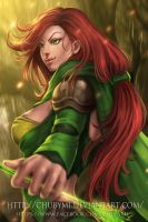 Windranger by ChubyMi