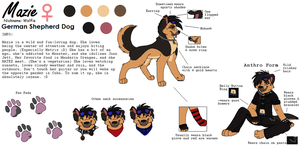 Ultimate Mazie Ref by AJ-Shep