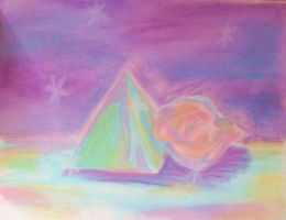 pastel pyramid by ruby-misted-eyes