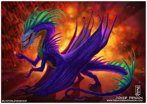 Joker Dragon by LyntonLevengood