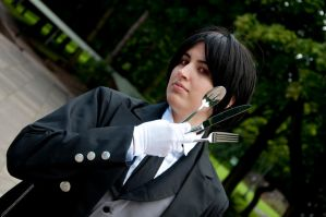 As Phantomhive Butler by AkraruPhotography