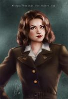 Captain America - Peggy Carter by kurimja