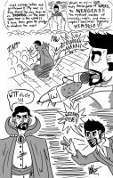 Ironman introduces Dr.Strange by GingerBaribuu